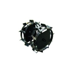 Колеса-грунтозацепы Салют Дн=460х160 мм.