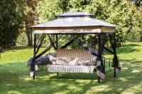 Качели-шатер садовые ОЛЬСА (С943)