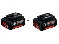 Аккумулятор Bosch GBA 18 V 4.0 Ah (-2-) Professional