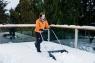 Движок Bradas для уборки снега