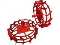 Грунтозацепы (комплект) ф 540/460 мм, шир. 160 мм, 6-гр. втулка 26 мм