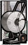Тележка для шланга металлическая Bradas в Бресте