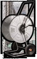 Тележка для шланга металлическая Bradas