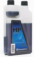 Масло Husqvarna HP для 2-х тактных двигателей, 1л (с дозатором)