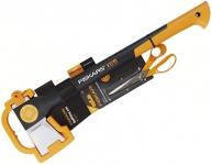 Топор-колун FISKARS X17+ножницы 1023885