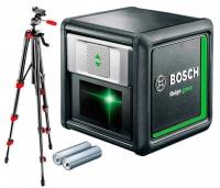 Нивелир лазерный BOSCH QUIGO Green + штатив