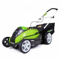 Аккумуляторная газонокосилка Greenworks G40LM45