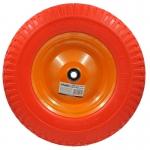 Колесо для тачки 4.00-8 PU (16Х100) литое
