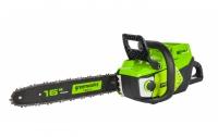 Пила цепная аккумуляторная GreenWorks GD60CS40 60В DigiPro