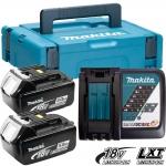 Аккумулятор MAKITA BL1850 2*5.0 Ач Li-Ion + зарядное DC18RC