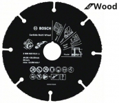 Универсальный отрезной круг Bosch Multi Wheel 125 мм (для болгарки по дереву)