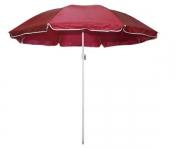 Зонт для пластиковой мебели с подставкой