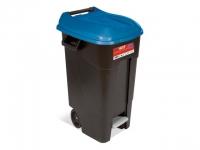 Контейнер для мусора пластик TAYG 120л с педалью