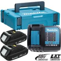 Аккумулятор MAKITA BL1815 2*1.5 Ач Li-Ion + зарядное DC18SD