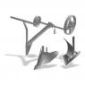 Комплект прицепных орудий к мотолебедке Целина