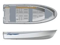 Лодка пластиковая Terhi 400