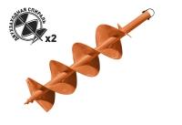 Шнек почвенный диаметр 200мм Carver GDB-200/2