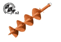 Шнек почвенный диаметр 200мм Carver GDB-200/2 в Бресте