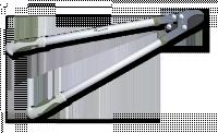 Секатор-сучкорез с рычажным усилителем 85см скругленный