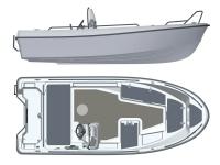 Лодка пластиковая Terhi 445С
