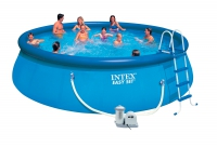 Бассейн надувной с комплектом 549х122 см, Easy Set, Intex 28176