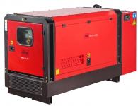 Генератор дизельный FUBAG DS 22 AC ES однофазный, с электростартером, в кожухе