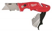 Нож выкидной с хранением лезвий MILWAUKEE Fastback в Бресте