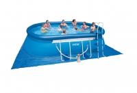 Бассейн надувной (на опорах) с комплектом 549x305x107 см, Oval Frame, Intex 54932