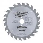 Диск пильный по дереву MILWAUKEE D 165х20х2,6 мм 24Z для циркулярной пилы в Бресте