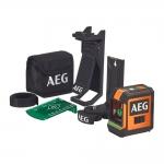 Нивелир лазерный AEG CLG220-K (зеленый луч)