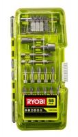 Набор бит RYOBI RAK55 (55 шт)