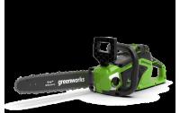 Пила цепная аккумуляторная GreenWorks GD40CS15 40В G-MAX DigiPro