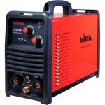 Инвертор сварочный TIG160DC HF/MMA140A, ПВ35%, газ.клапан, э/держатель, горелка TIG, 220В IGBT KIRK