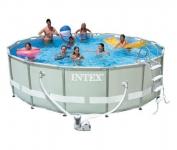 Бассейн каркасный с комплектом 488х122 см, Ultra Rondo, Intex 54922