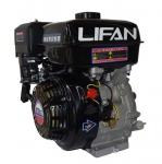 Двигатель-Lifan 177F (вал 25 мм, 90x90) 9 лс