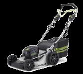 Аккумуляторная газонокосилка GreenWorks GD82LM51