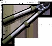 Секатор-сучкорез с рычажным усилителем 94см телескопический