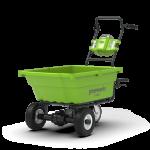 Аккумуляторная садовая тележка GreenWorks G40GC 40В G-MAX в Бресте