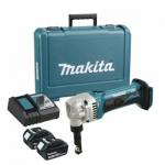Высечные аккумуляторные ножницы MAKITA DJN161RFE