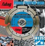 Алмазный диск FUBAG Power Twister Eisen 125х22,2х2,3