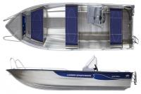 Моторная лодка Linder SPORTSMAN 445 MAX