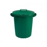 Бак для мусора с крышкой 90л