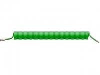 Шланг полиурет. спиральный ф 8/12 мм c быстросъемн. соед. ECO (длина 15 м)