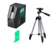 Уровень лазерный FUBAG Crystal 20G VH Set (зеленый луч)