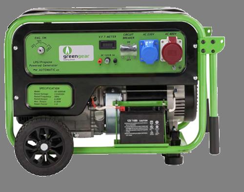 Газовый генератор Greengear GE-7000T