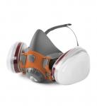 Комплект для защиты дыхания с полумаской J-SET 6500P с фильтрами 5510 А1, с предфильтрами и с держателями Jeta Safety