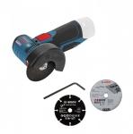 Аккумуляторная угловая шлифмашина Bosch GWS 10,8-76 V-EC