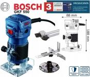 Фрезер кромочный BOSCH GKF 550 Professional в Бресте