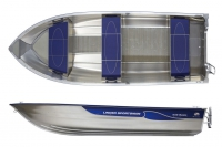 Моторная лодка Linder SPORTSMAN 445 BASIC