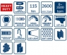 Гайковерт аккумуляторный BOSCH GDS 12V-115 Professional